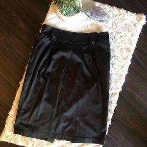 Forever 21 Soft Satin pencil skirt
